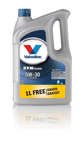 Valvoline SynPower XL-III 5W-30, 4+1, 1LFG, 872374